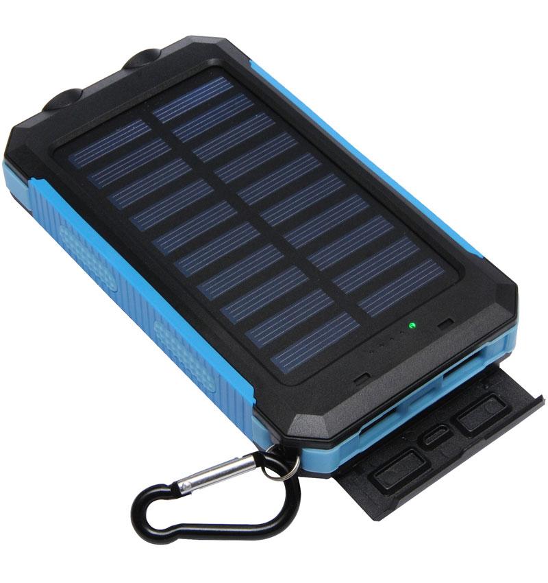 solar powerbank mah blue tecmaster. Black Bedroom Furniture Sets. Home Design Ideas